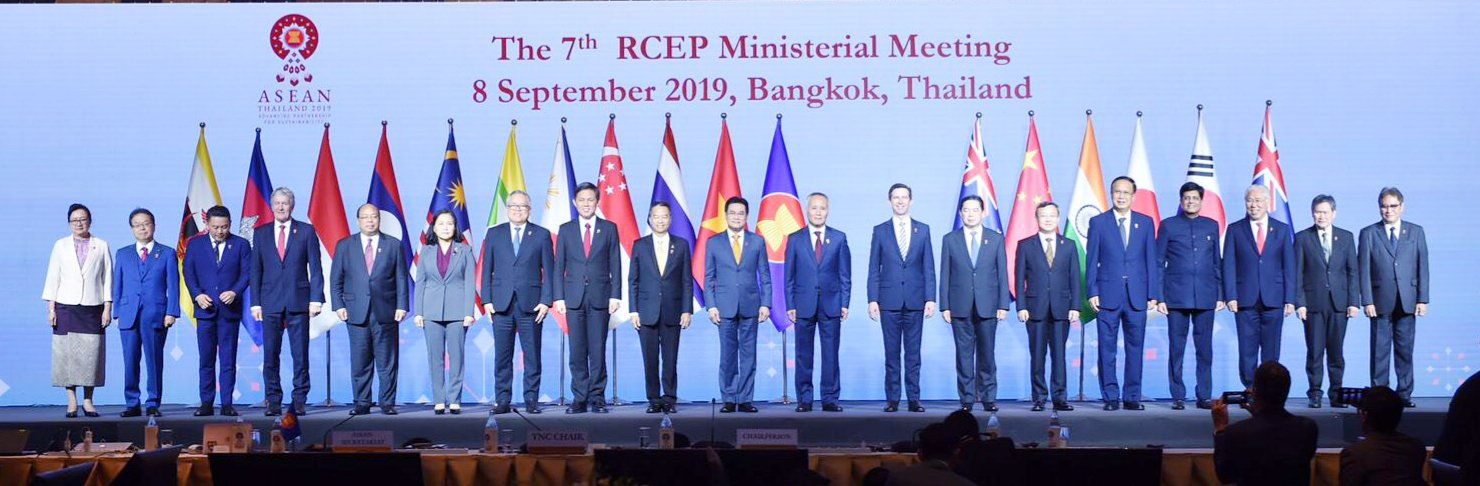 RCEP Meeting in Bangkok, held on September 8, 2019. Photo courtesy: Twitter/@PiyushGoyal