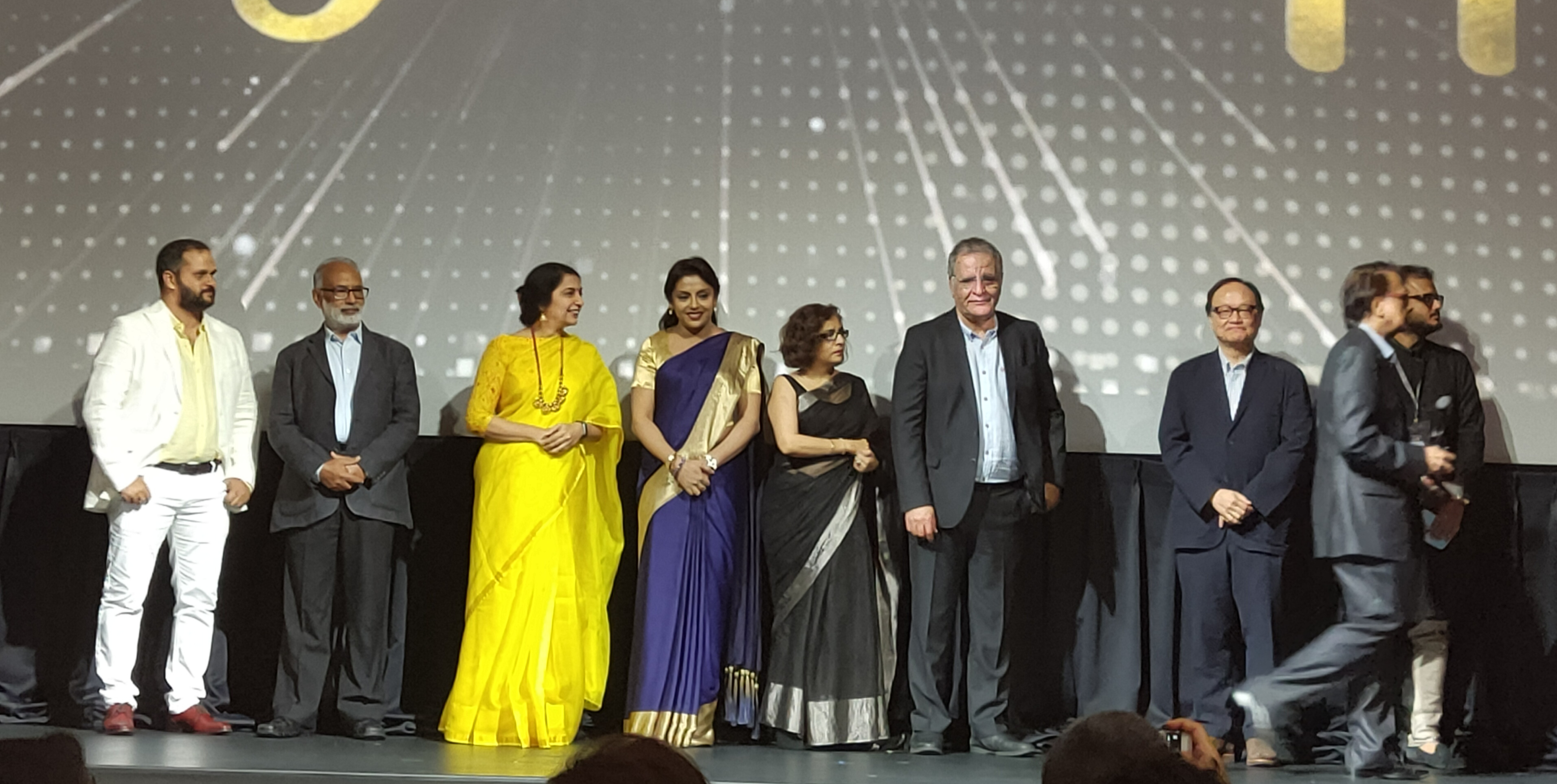 Awards ceremony at the 2019 Singapore South Asian International Film Festival. Photo courtesy: Connected to India
