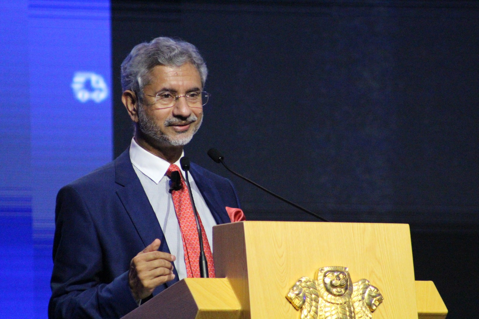 Jaishankar also spoke about the importance of the Indian diaspora to the nation's foreign policy and diplomacy. Photo: Connected to India