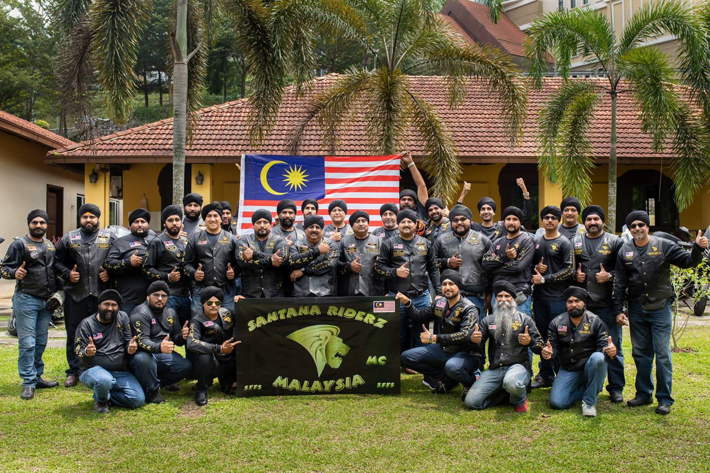 Members of Santana Riderz Malaysia Club. Photo courtesy: Santana Riderz Malaysia Club