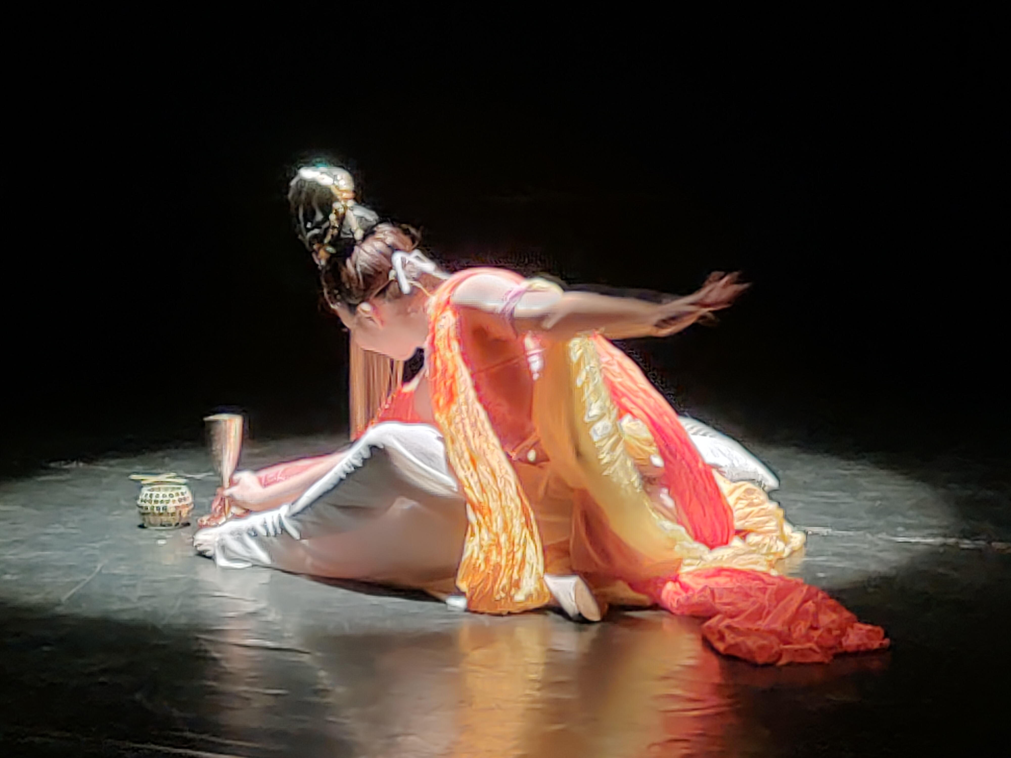 Performed by: Katherine Moordinaire (Picture: Connected to India)