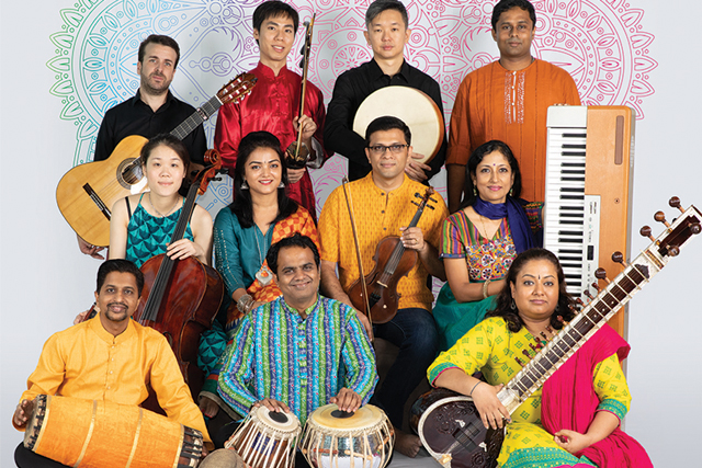 Swarhythm Ensemble, a multi-ethnic group of talented Singapore musicians founded and led by accomplished tabla artist Nawaz Mirajkar, will launch their first album during their concert.