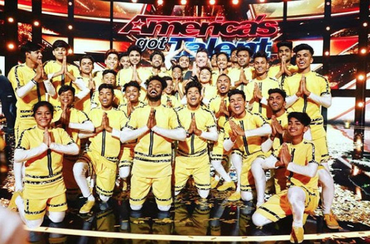 Mumbai dance troupe V.Unbeatable finished fourth on America's Got Talent. Photo courtesy: Instagram/V.Unbeatable