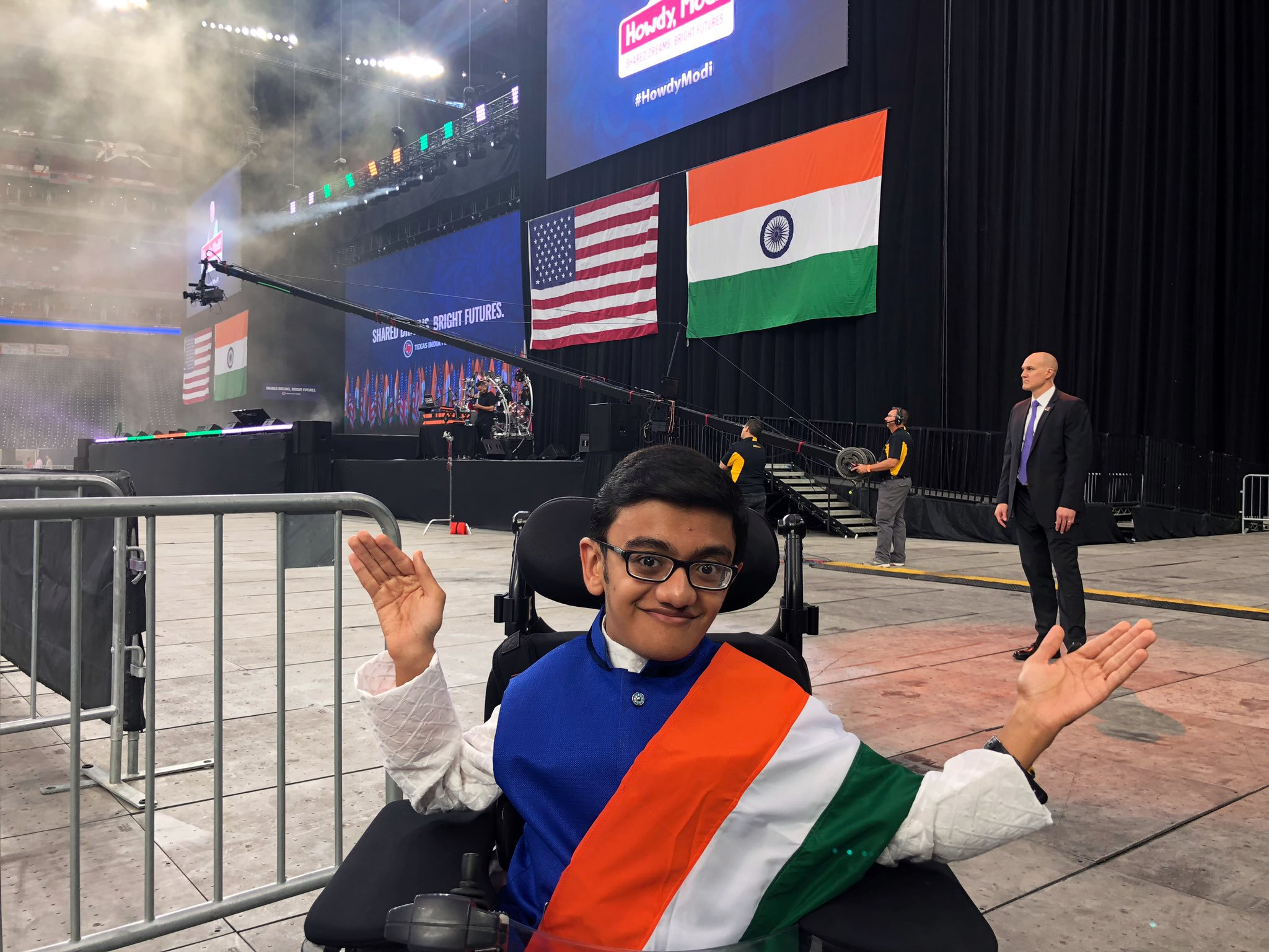 Sparsh first shot to viral fame at the age of 12 when he recorded a video covering the Eminem song 'Not Afraid'