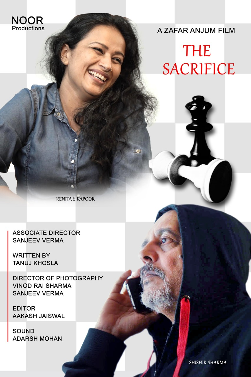The Sacrifice will be screened at film festivals around the world before being released on YouTube. Photo courtesy: Tanuj Khosla