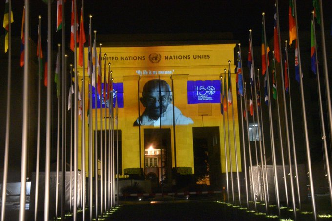 150 years of Celebrating the Mahatma @IndiaUNGeneva