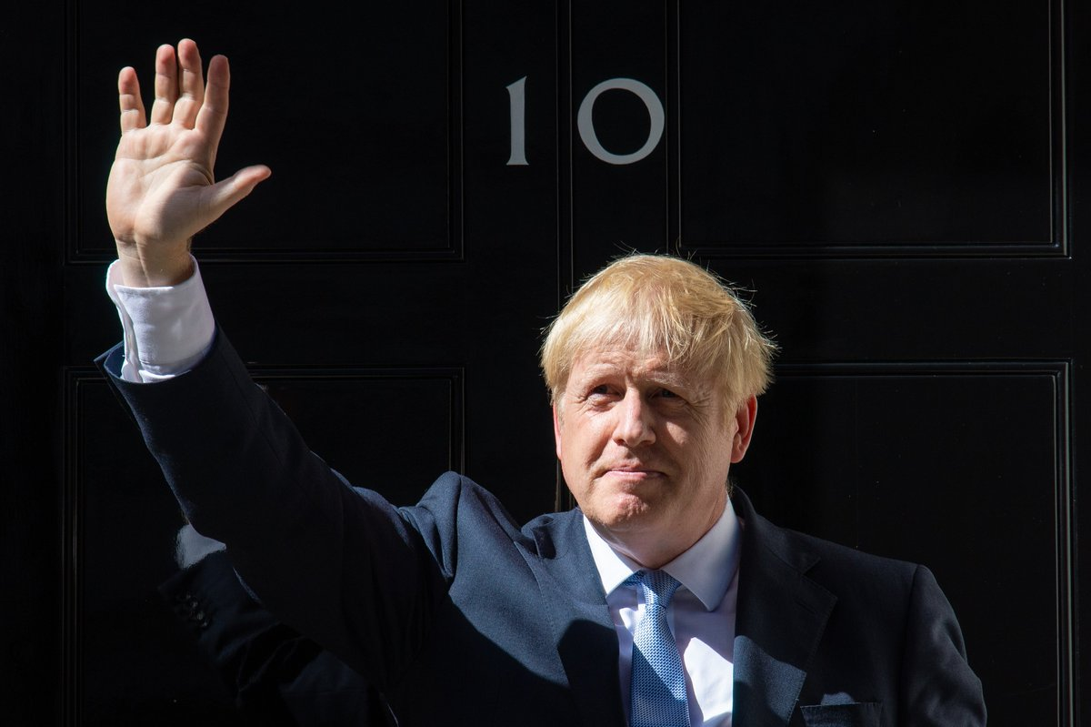 In Sunday newspapers, Johnson himself reiterated his stance against the controversial Irish backstop and said his untested plan to use technology to eliminate customs border checks would take the UK out of EU trade rules while respecting the Northern Ireland peace process.