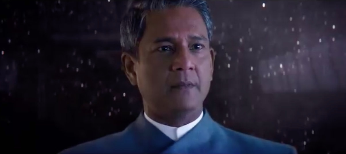 Adil Hussain in Star Trek: Discovery. Photo courtesy: Twitter/@StarTrek