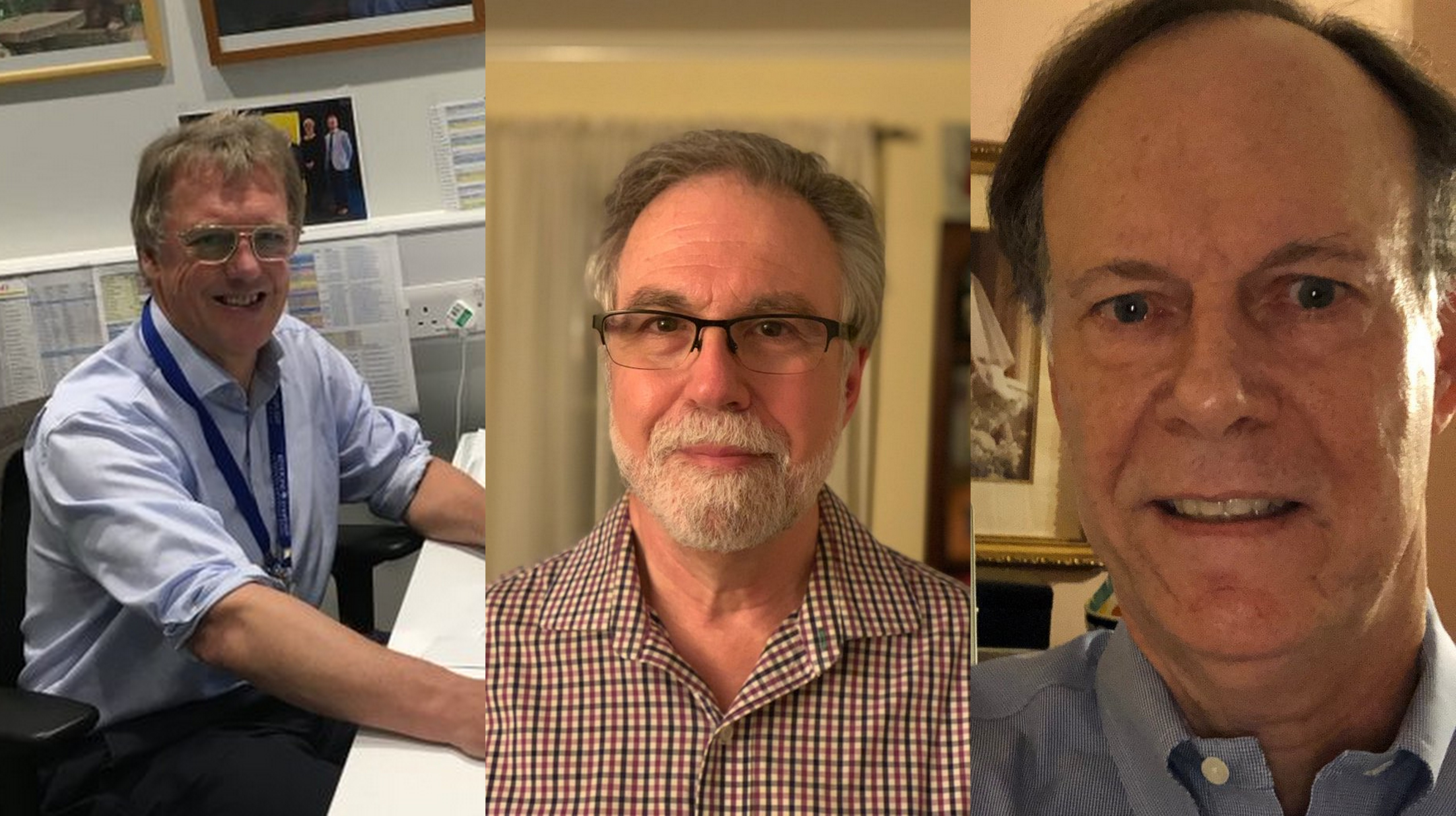(From l to r): Peter Ratcliffe, Gregg Semenza and William Kaelin have won the Nobel Prize for Medicine. Photos courtesy: Twitter/@NobelPrize