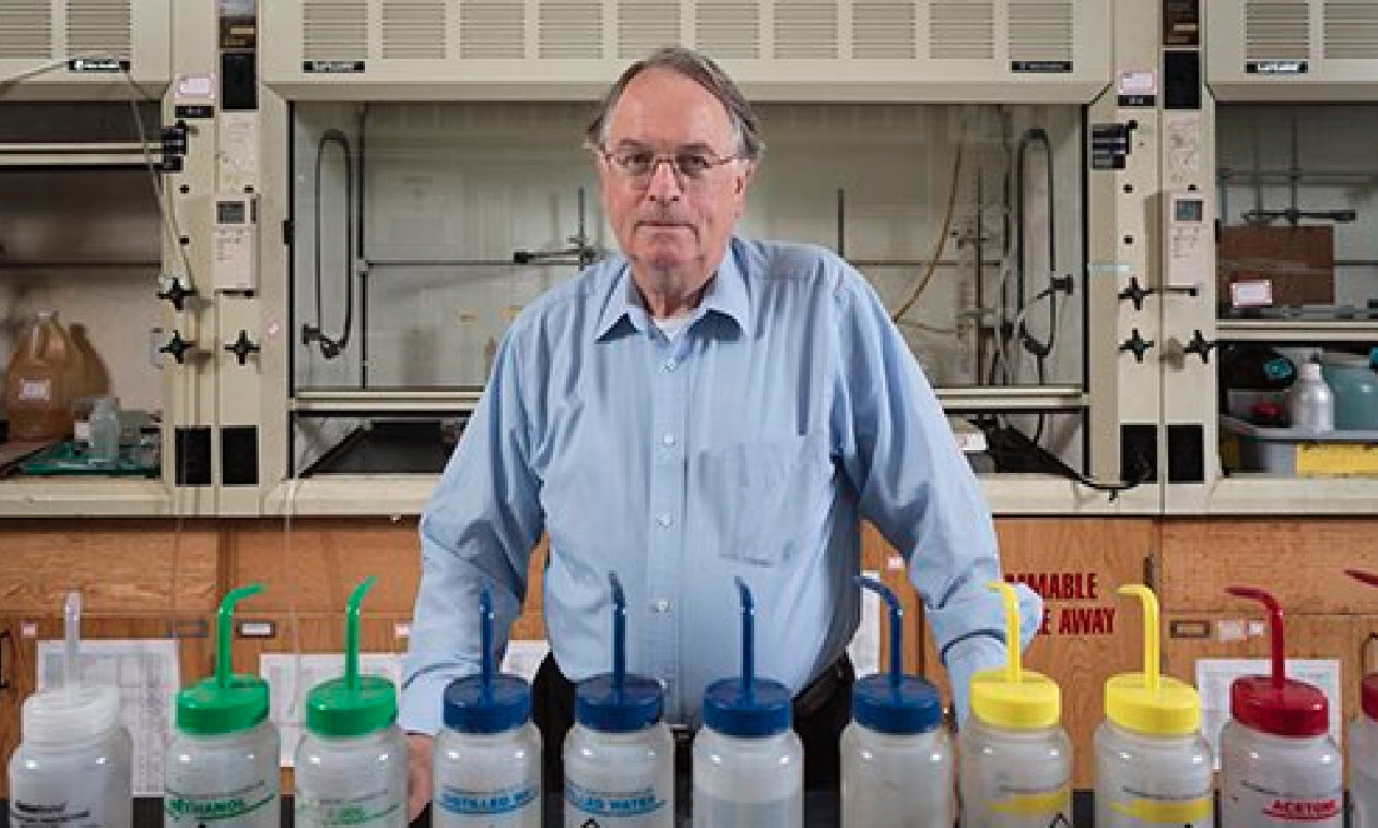 British chemist Stanley Whittingham has also won the Nobel Prize for Chemistry. Photo courtesy: Twitter/@binghamtonu