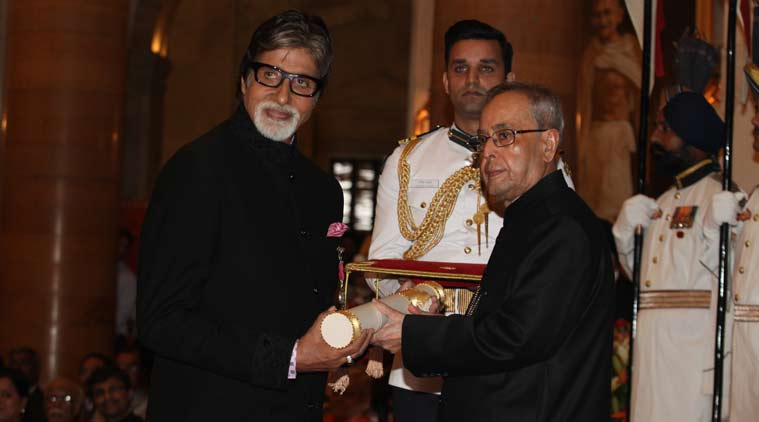 Amitabh Bachchan, known as the 'Shahenshah of Bollywood', has won multiple awards for his contribution to Indian cinema and the arts, including the country's second highest civilian award Padma Vibhushan in 2015 and, most recently, the Dada Saheb Phalke Award in 2019. Photo courtesy: PIB