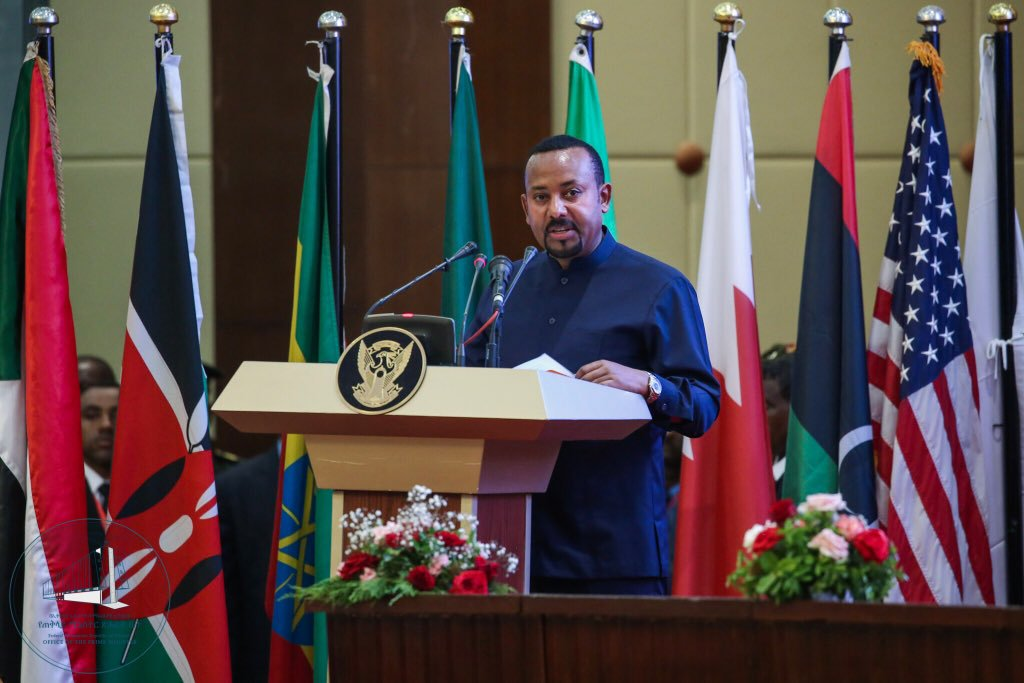 Ethiopian Prime Minister Abiy Ahmed. Photo courtesy: Twitter/@PMEthiopia