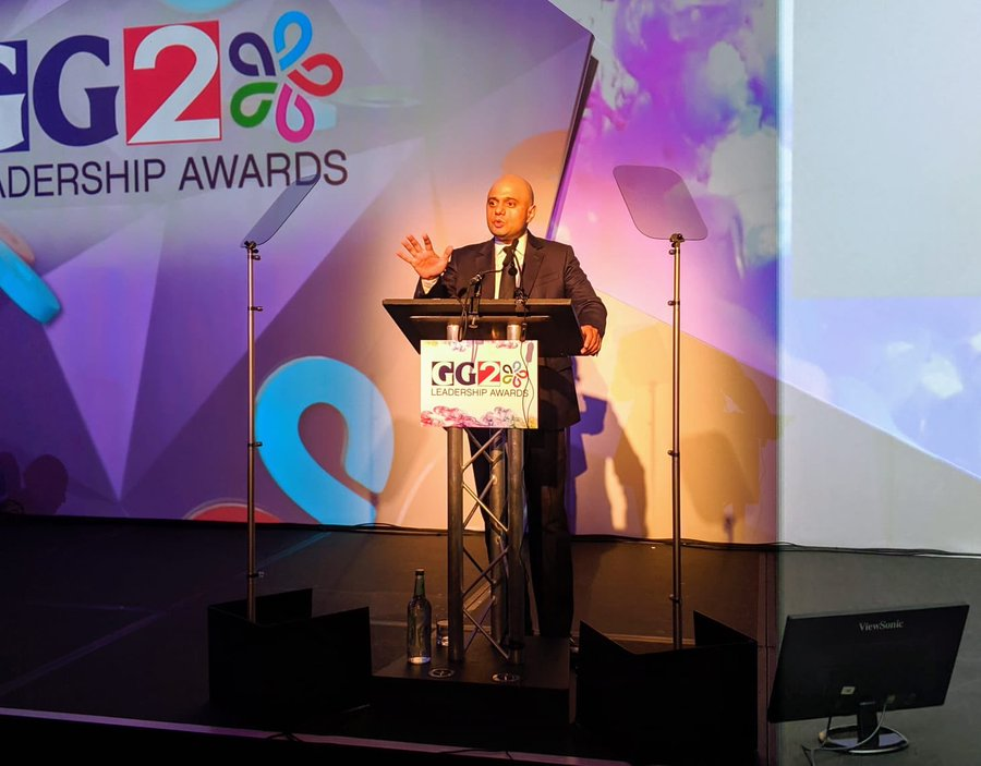 Javid has topped the power list released annually by the Asian Media Group (AMG), UK-based publishers behind the GG2.