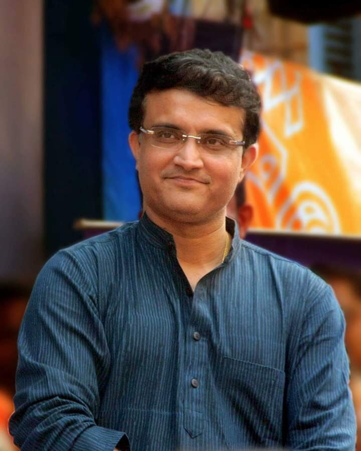 Sourav Ganguly likely to become next BCCI President. Photo courtesy: Twitter/@SGanguly99