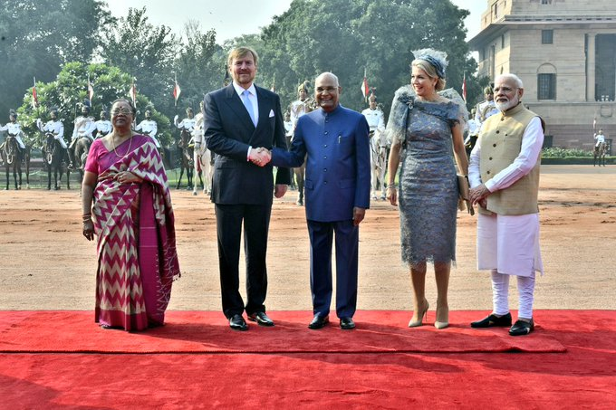 they met President Ramnath Kovind and Prime Minister Narendra Modi.