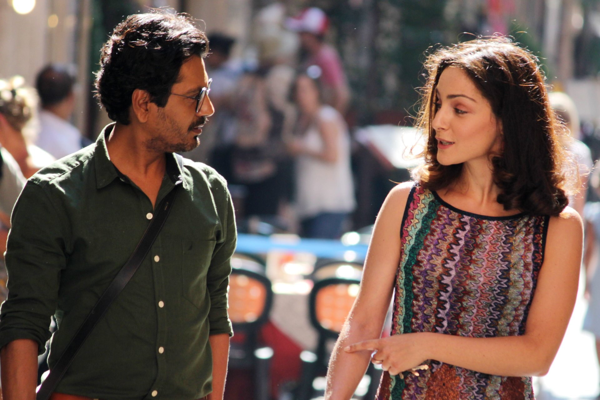 Starring as Reena, director Tannishtha Chatterjee performed the role of producer and actor for Roam Rome Mein. Photo courtesy: Twitter/@romacinemafest