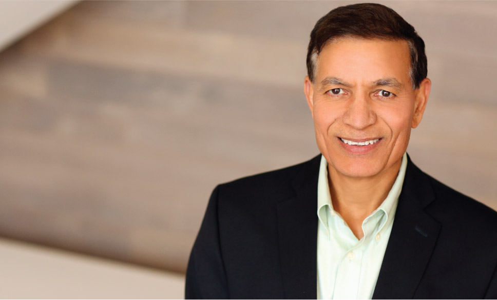 Jay Chaudhry is CEO of ZScaler, a cybersecurity firm he founded in 2008. Photo courtesy: zscaler.com