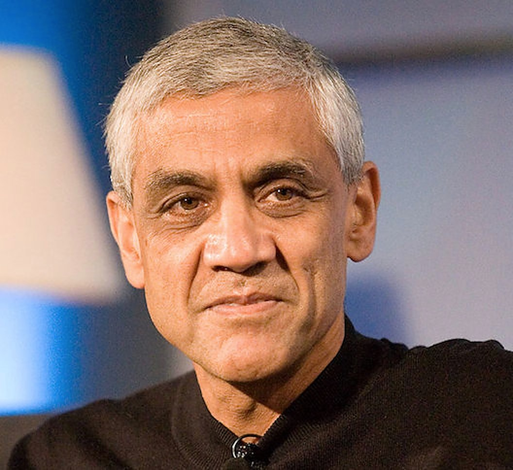 Vinod Khosla is the founder of Khosla Ventures, a Silicon Valley venture capital firm. Photo courtesy: Wikipedia