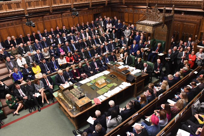In the House of Commons on Tuesday evening, lawmakers passed Johnson's new Brexit deal by a vote of 329 to 299. However, less than an hour later they voted, 322 to 308, against Johnson's demand that lawmakers take only three days to read, scrutinise and amend the 110-page legislation.