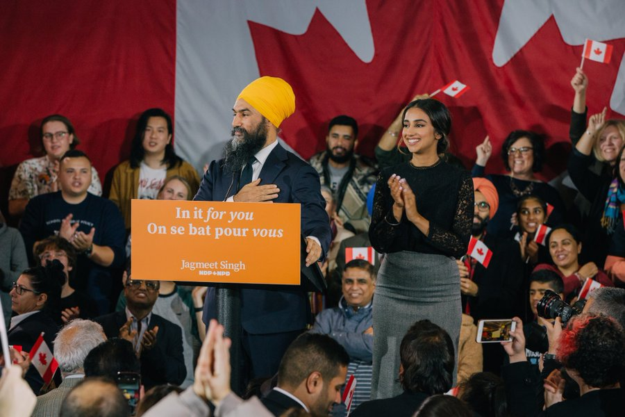 Jagmeet, the first non-white leader of a national political party, in a celebratory speech on Tuesday said his party will now be