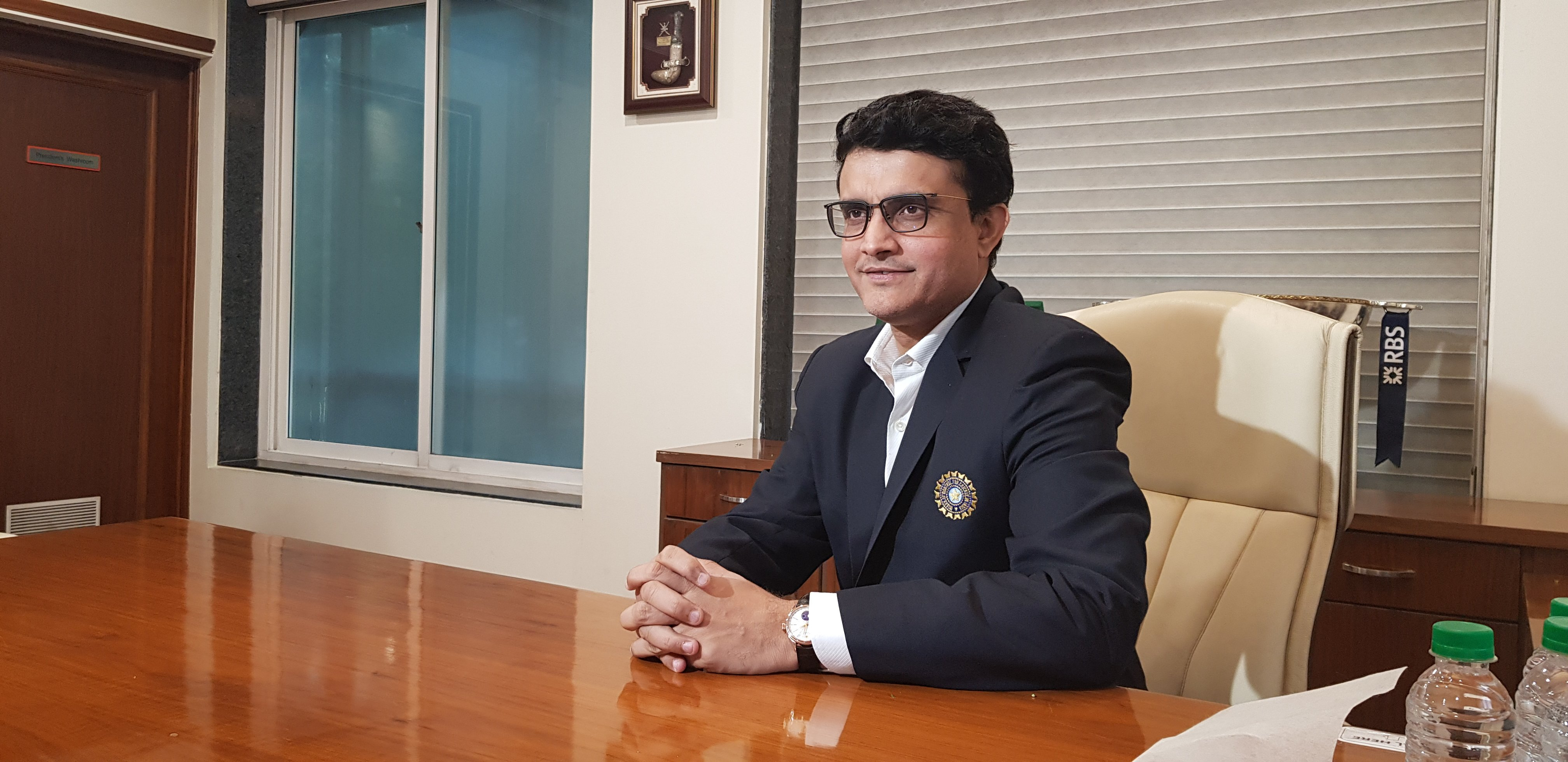Sourav Ganguly is the 39th President of the BCCI. Photo courtesy: Twitter/@BCCI