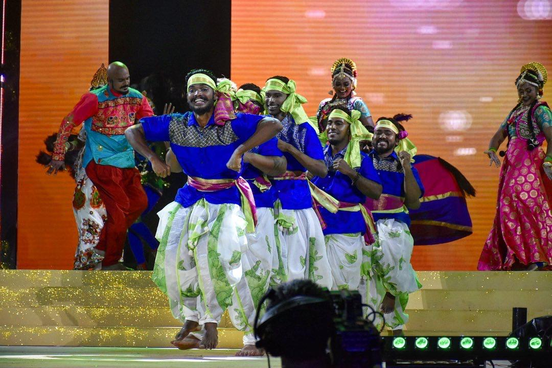 The colourful cultural event showcased local Singapore singers and dancers and saw a turnout of over 1000 people. Photo courtesy: Mediacorp