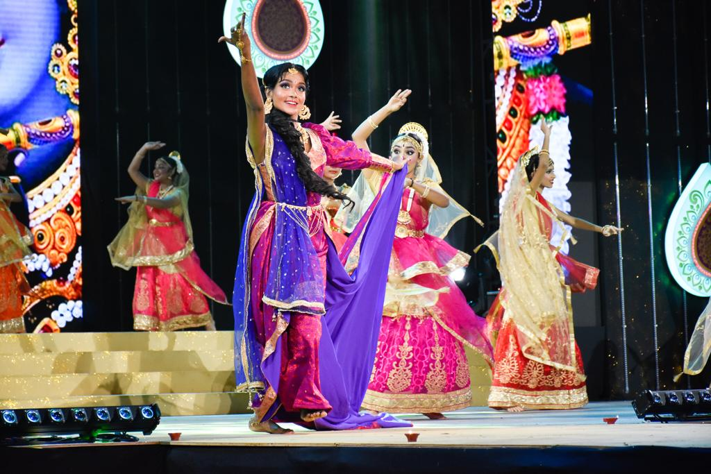 The event was a countdown to the festival of Diwali with the audience enjoying a mix of music and various kinds of dances. Photo courtesy: Mediacorp