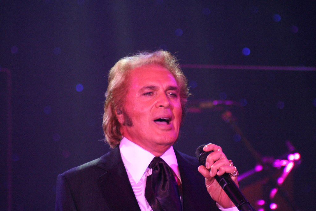 Engelbert Humperdinck will perform in Singapore on November 5 as part of his