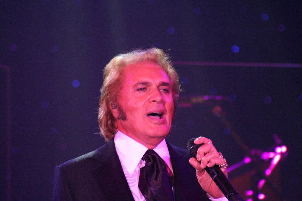 Engelbert Humperdinck will perform in Singapore on November 5 as part of his