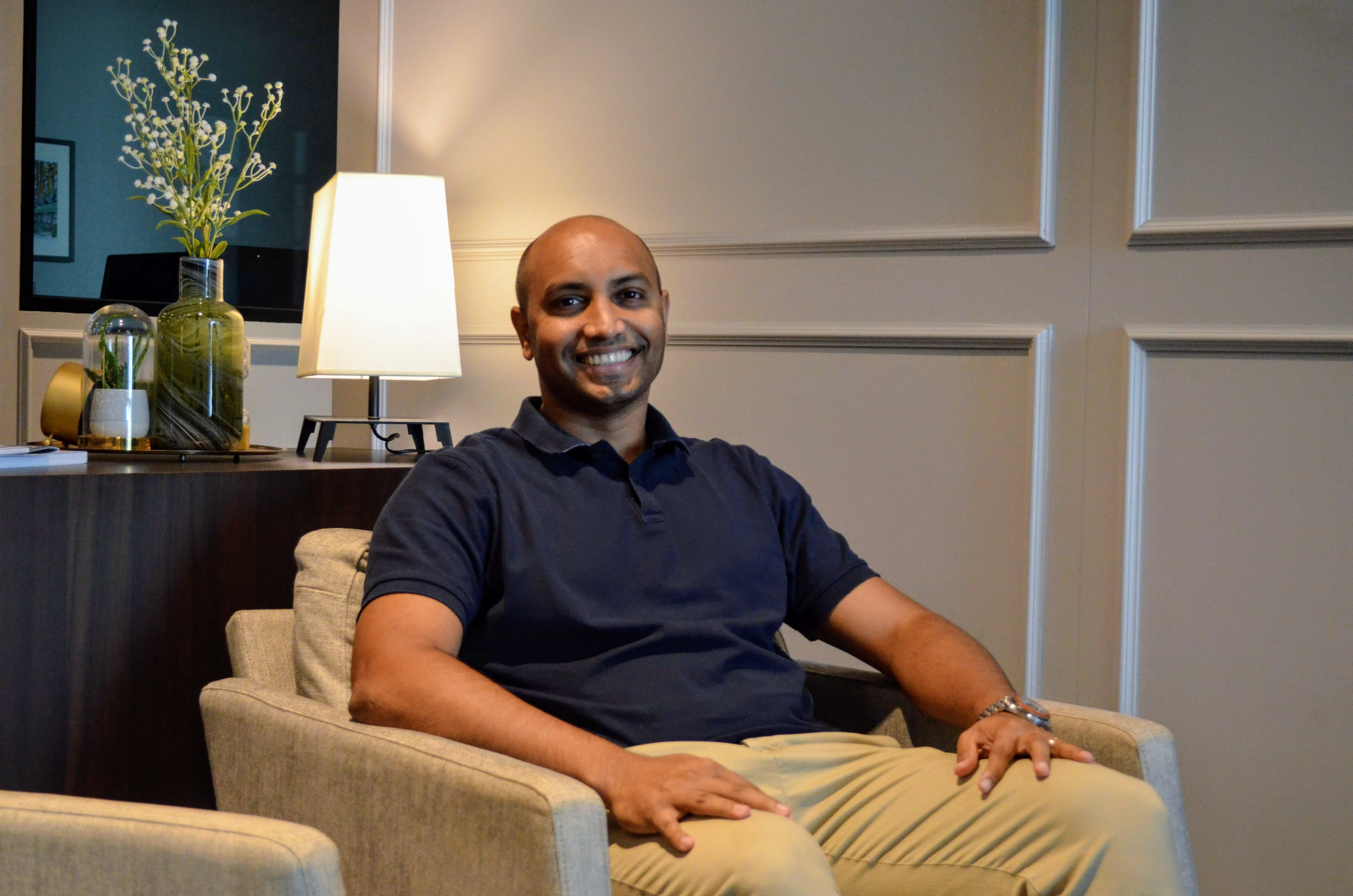 Stemming from the Sanskrit word for rules and principles, Nium encapsulates the process of rewriting rules to ensure financial freedom, Indian-origin Co-Founder and CEO of Nium Prajit Nanu said. Photo: Connected to India