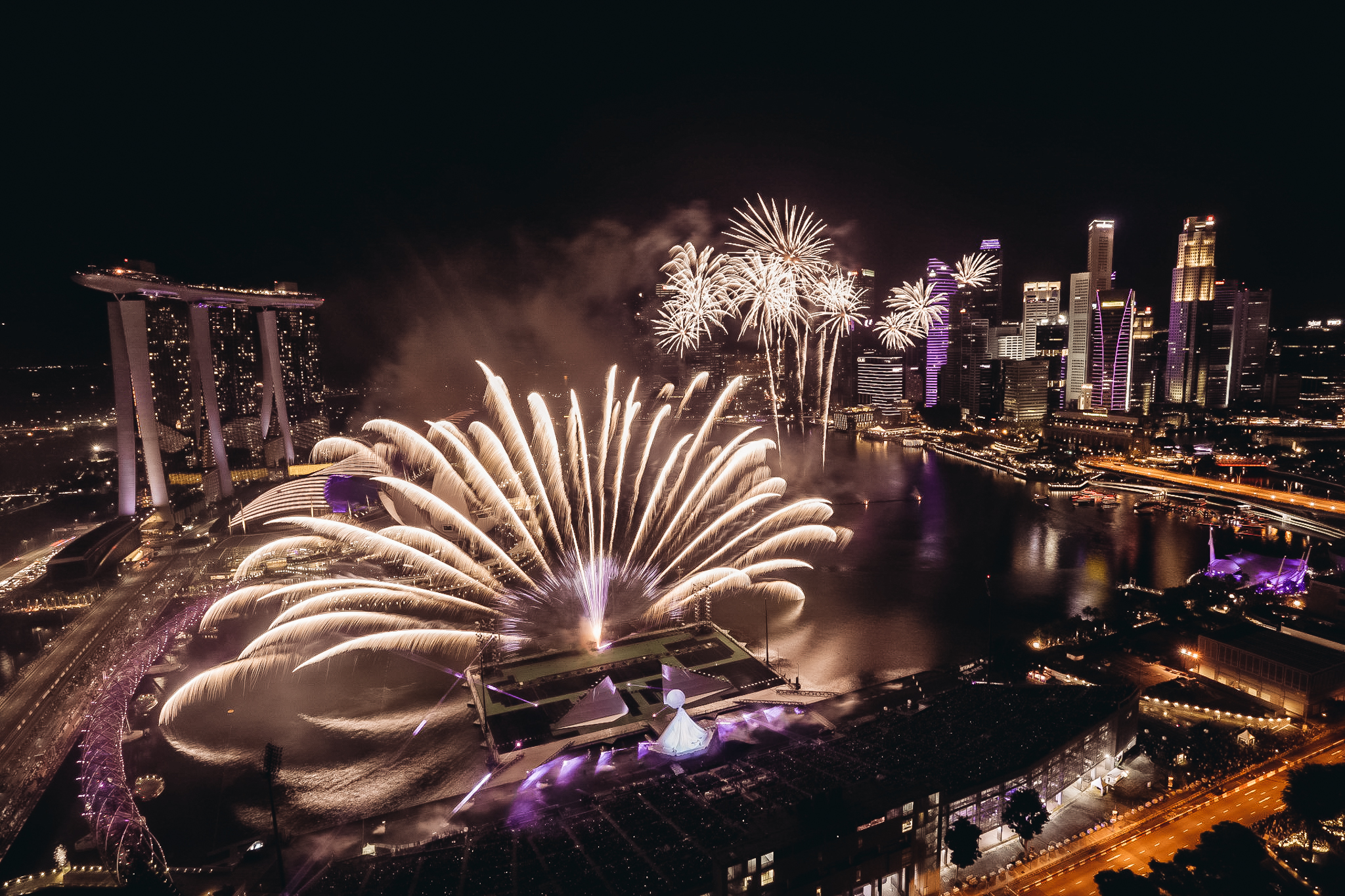 Photo courtesy: Marina Bay Singapore Countdown 2020