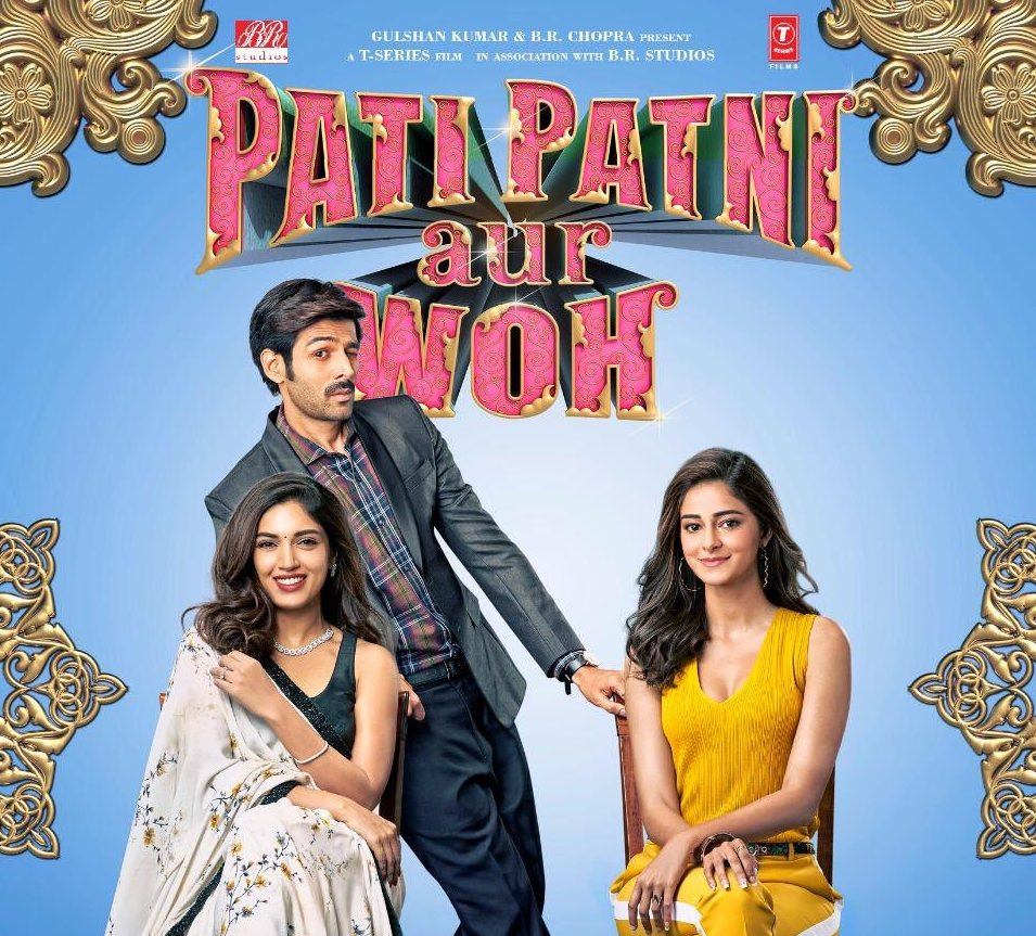Pati Patni aur Woh is a remake of the 1978 film. Photo courtesy: Twitter/@BRStudiosLLP