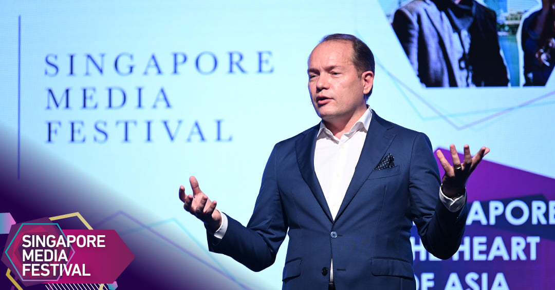 Robert Gilby, Chairman of the SMF Advisory Board. Photo courtesy: Singapore Media Festival