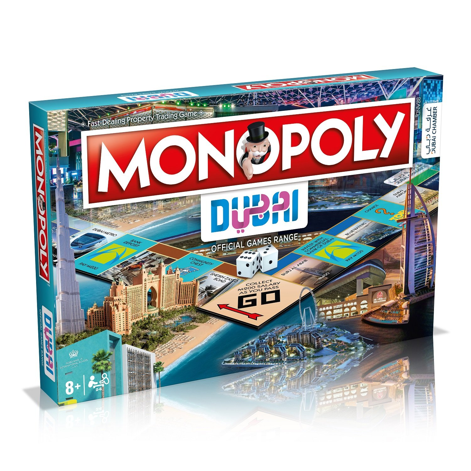 Monopoly Dubai was officially released earlier this week. Photo courtesy: Twitter/@DXBMediaOffice