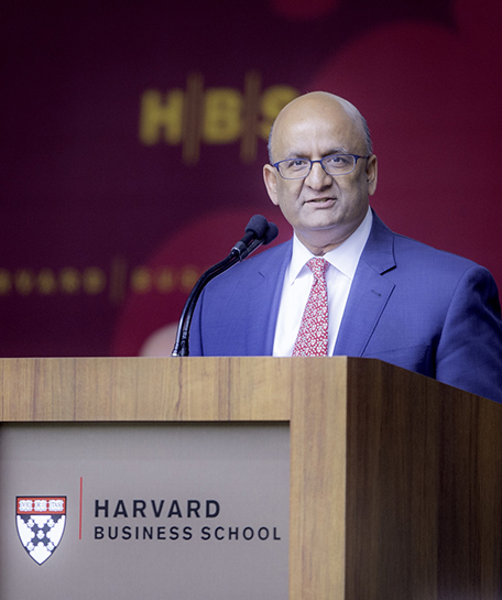 Nohria, who will take a sabbatical beginning in July 2020, joined the Harvard Business School faculty in 1988.
