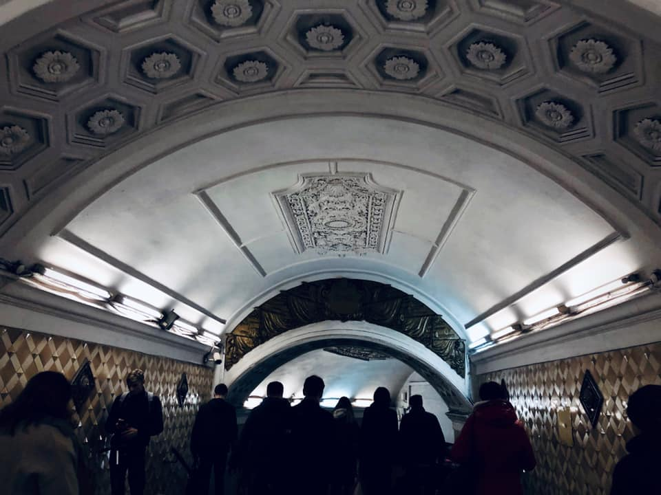 The Moscow Metro is one of the busiest public transport systems in the world connecting 200 stations and moving an average of 9 million commuters a day.