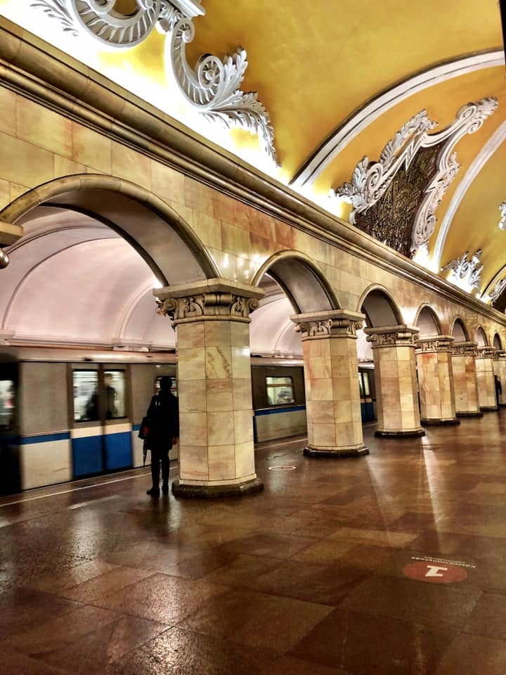 The Moscow Metro first opened in 1935, making it one of the oldest metro systems in the world. Photo courtesy: Ramya Chandrashekaran/Facebook