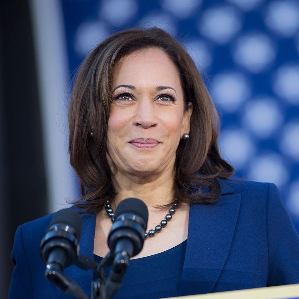 Kamala Harris wants to eliminate discriminatory backlogs and protect immigrant workers. Photo courtesy: Facebook/Kamala Harris