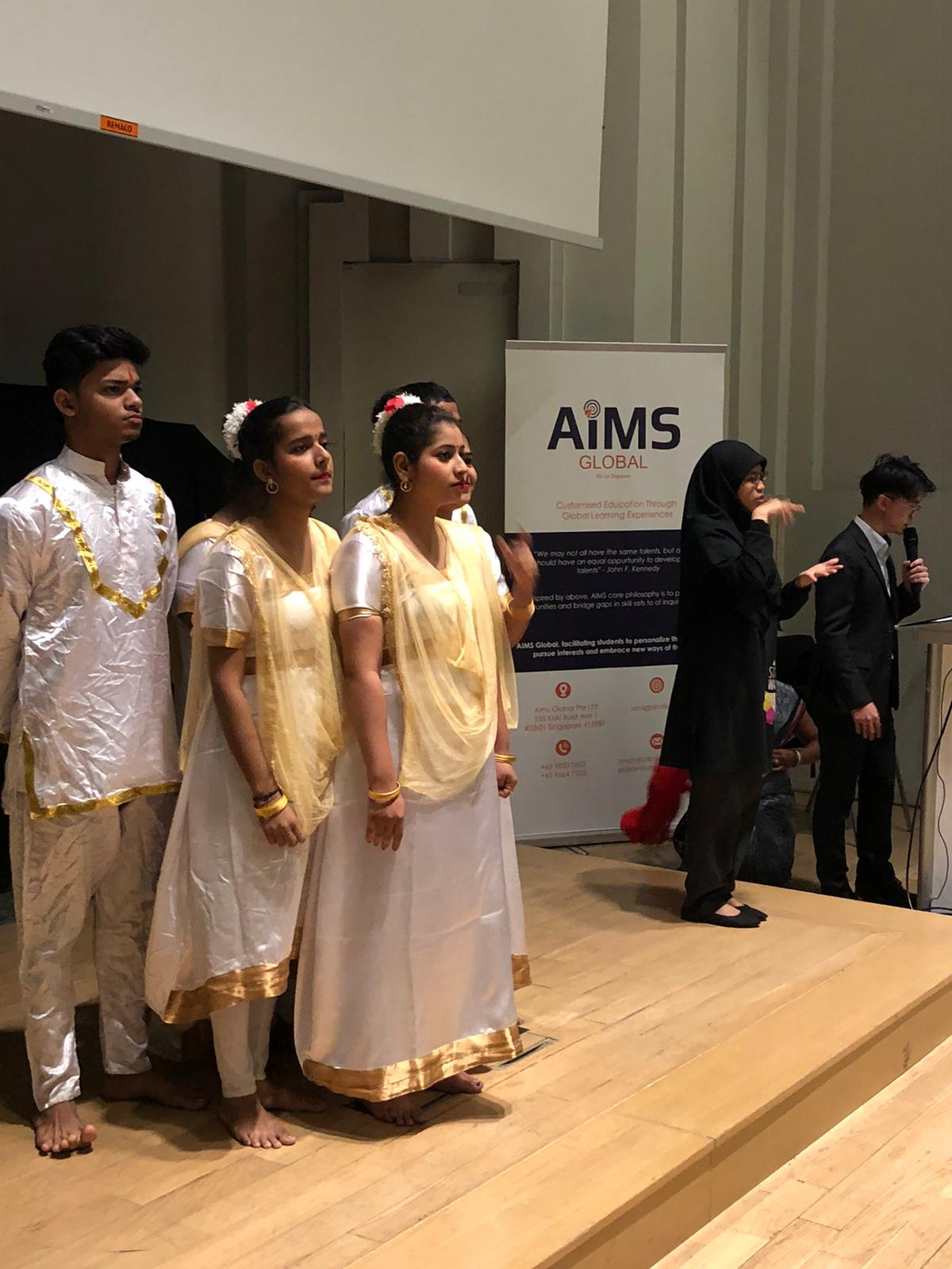 In an event aptly titled DATLP:Transcending Boundaries, participants from India together with differently abled group from Singapore showcased their special talents in singing, storytelling, magic, handicrafts and caricatures. Photo Courtesy: AiMS Global