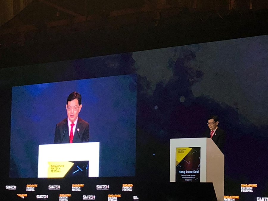 Singapore's Deputy Prime Minister and Minister for Finance Heng Swee Keat