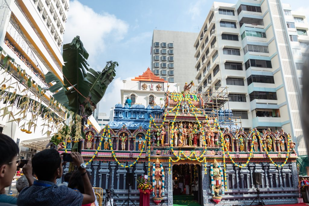 Sri Krishnan Temple along Waterloo Street. Photo courtesy: heb.org.sg/srikrishnantemple