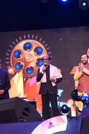 Rajnikanth dedicated his award received at IFFI to all his directors, producers, technician and all his fans in his thank you speech. Photo Courtesy: IFFI