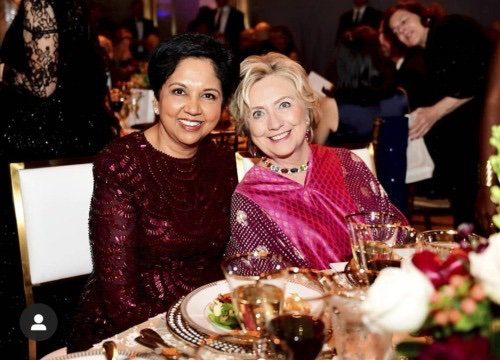former Secretary of State Hillary Clinton. The sold-out gala raised about USD 2 million.