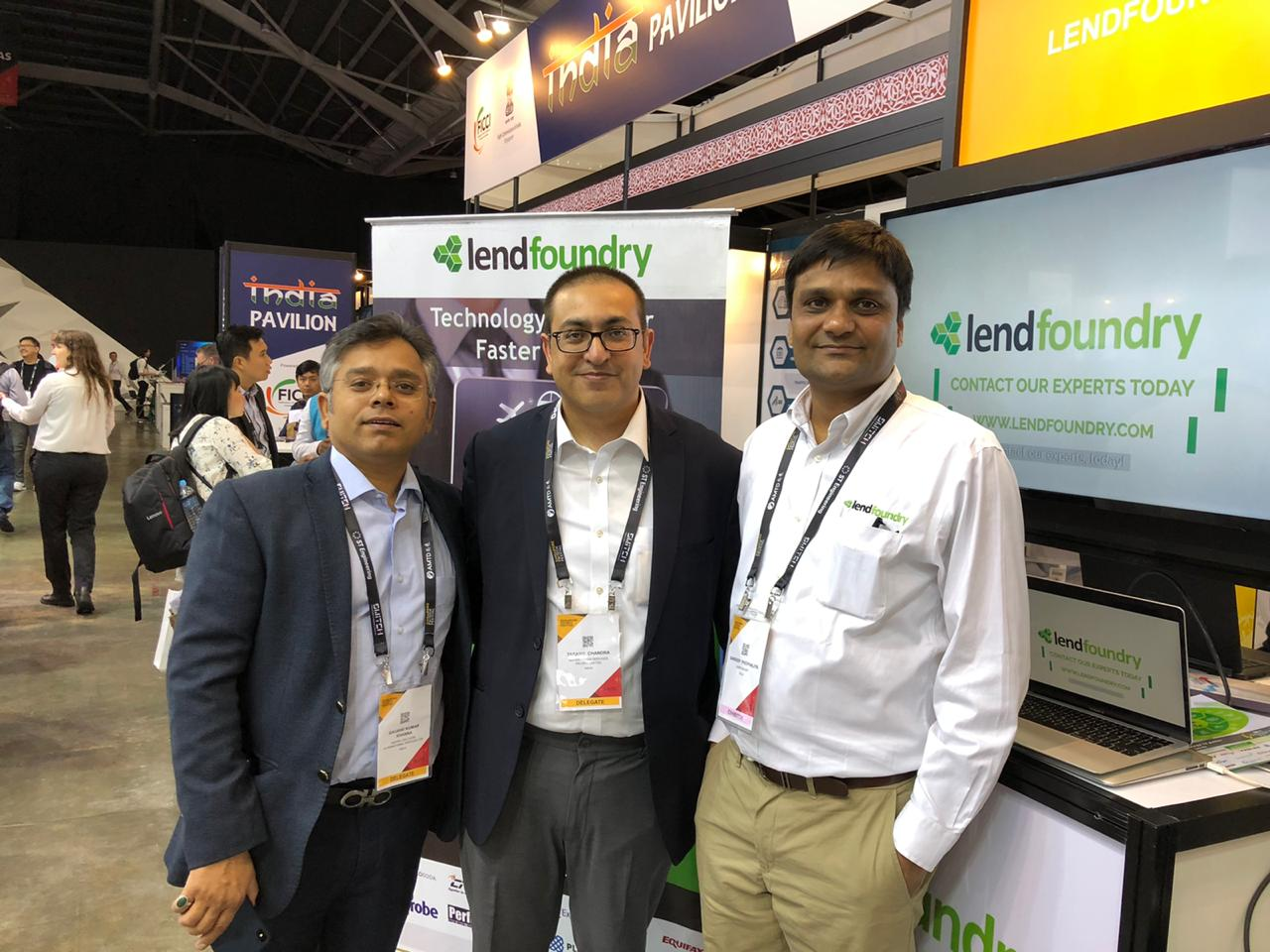 Connected to India caught up with the LendFoundry CEO Sandeep Phophaliya at the India Pavillion of the Singapore FinTech Festival 2019.