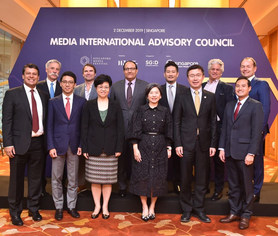 The newly launched Media Advisory Council, chaired by Minister for Communications and Information S Iswaran. Photo courtesy: Facebook/Infocomm Media Development Authority - IMDA