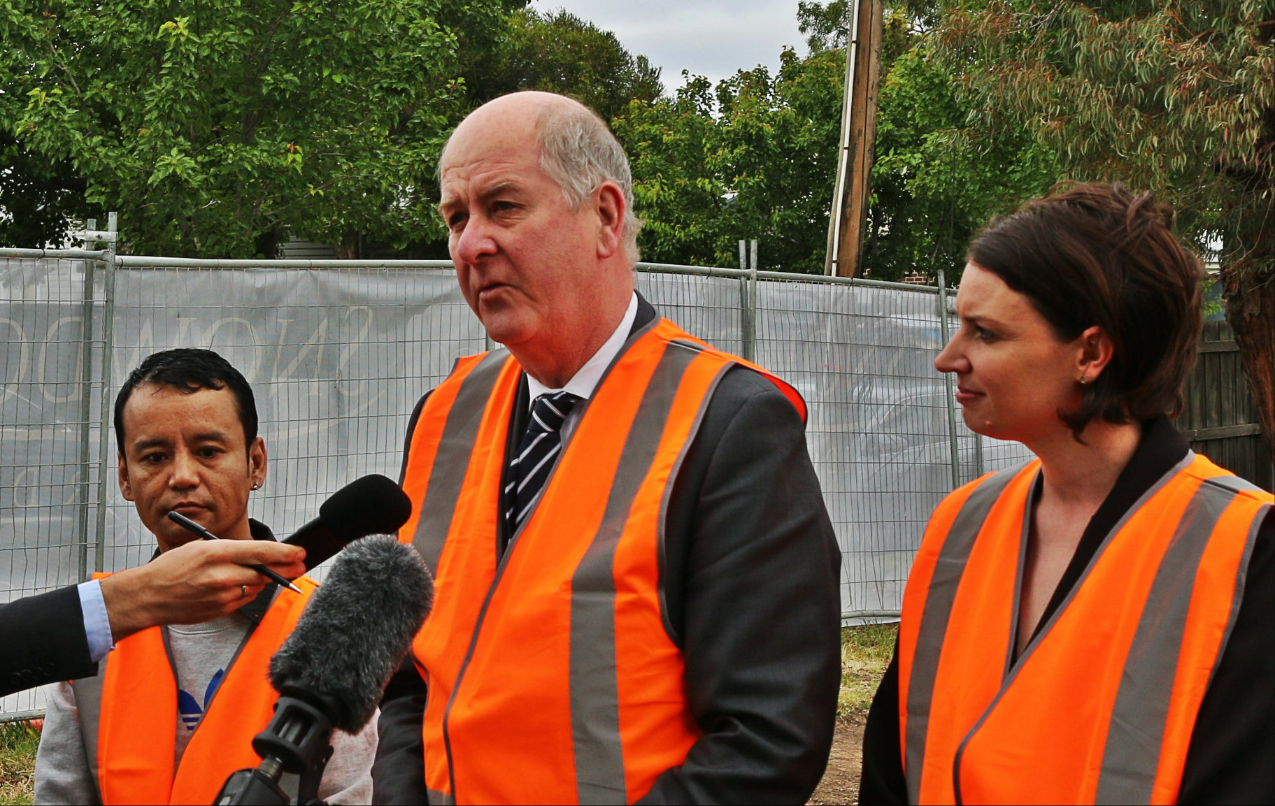Victoria's Minister for Multicultural Affairs Richard Wynne announced the 'Infrastructure Fund'