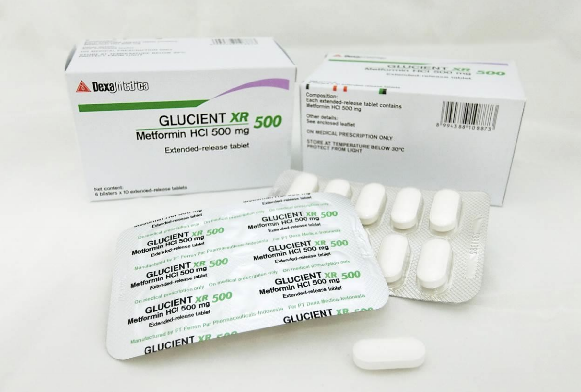 Glucient XR Tablet 500mg. Photo courtesy: HSA