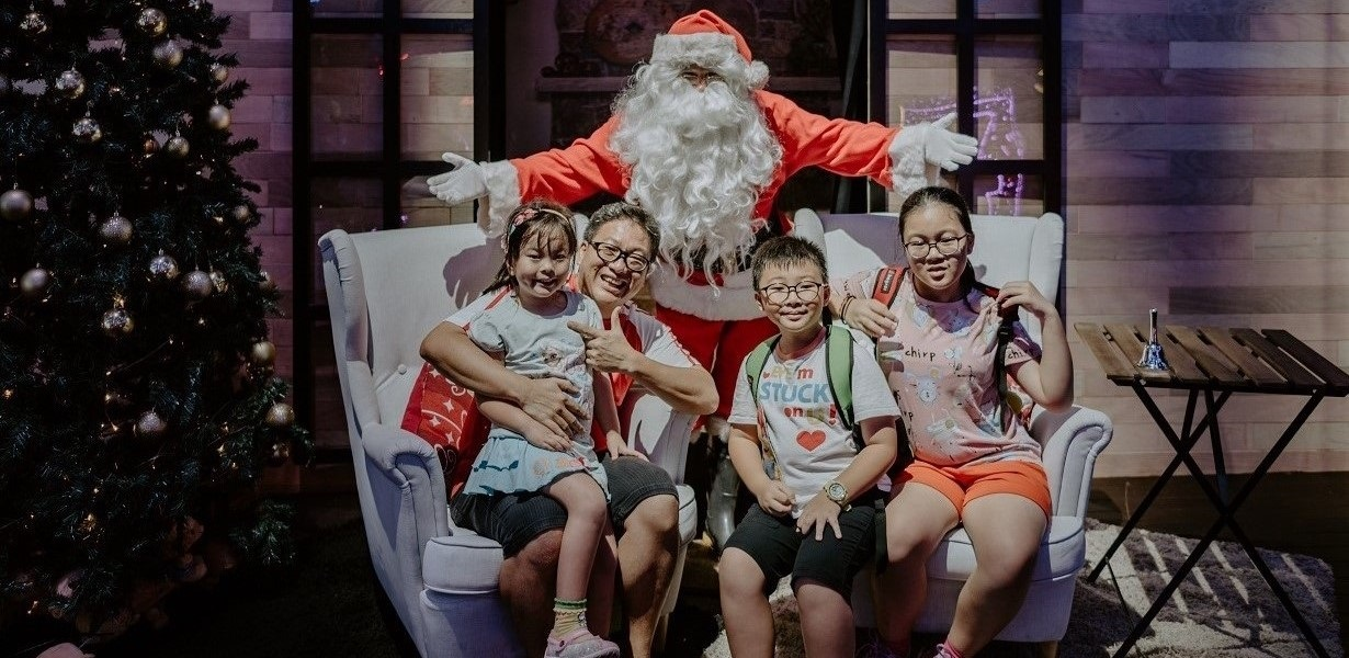 Visit Santa at his workshop! Photo courtesy: Christmas Wonderland