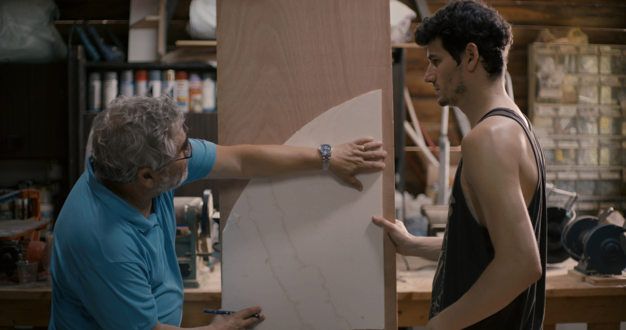 Israeli movie Africa is docu-fictional study of wounded masculinity and the anxiety of ageing. Photo Courtesy: SGIFF