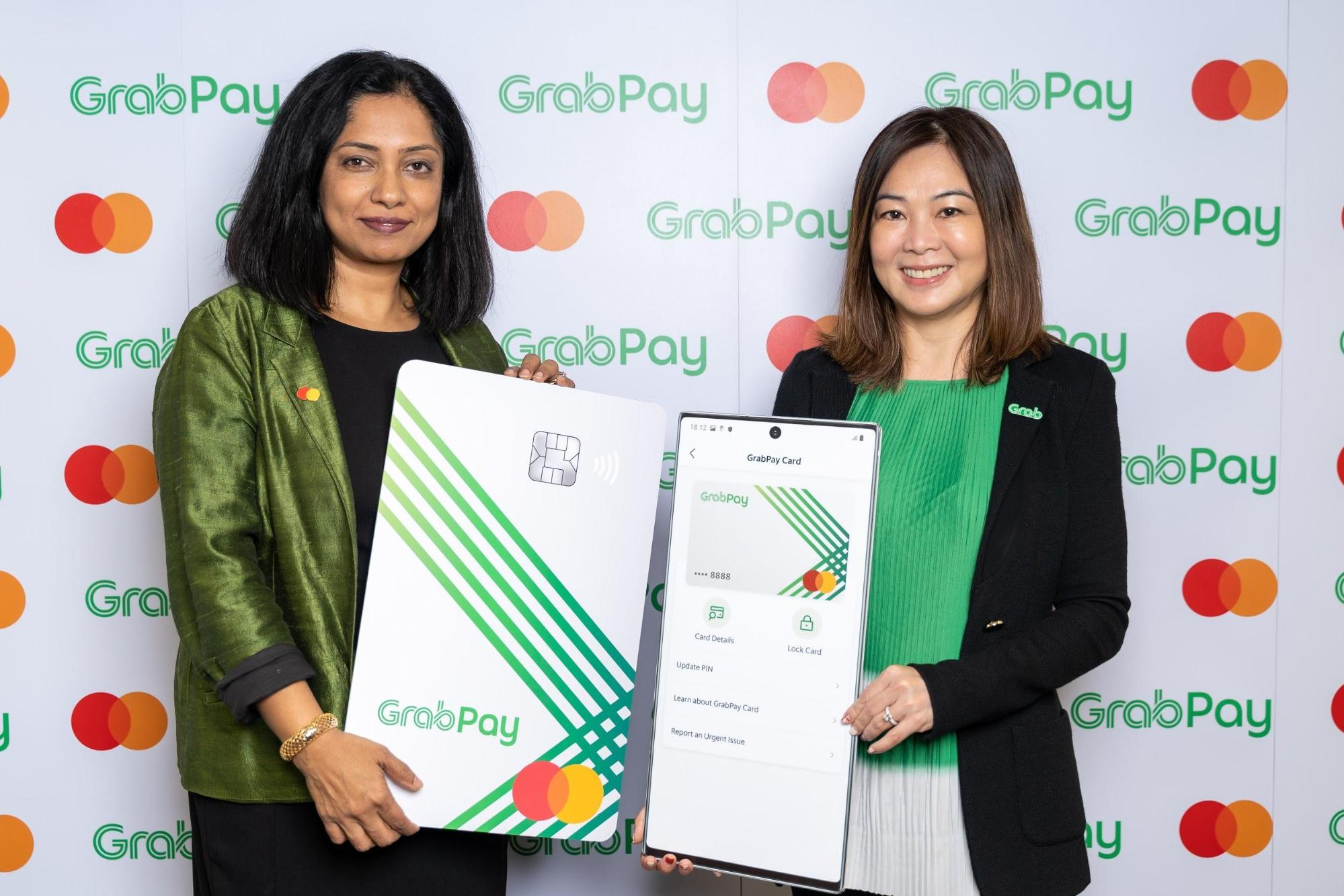 Rama Sridhar, Executive Vice President, Digital & Emerging Partnerships and New Payment Flows, Asia Pacific, Mastercard; with Huey Tyng Ooi, Managing Director, GrabPay. Photo courtesy: Grab